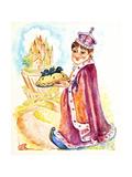 Fairytale King Giclee Print by Judy Mastrangelo