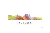 Augusta Georgia Skyline Giclee Print by Marlene Watson