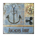 Anchors Away Giclee Print by Karen Williams
