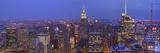 Gotham City Pano Lámina fotográfica por Moises Levy