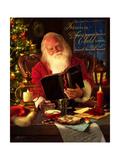 Santa Giclee Print by Jason Bullard