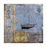 Fair Winds Giclee Print by Karen Williams