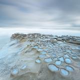 Moises Levy - Crateres Color Cuadrada - Fotografik Baskı