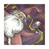 Santa V Giclee Print by Kory Fluckiger