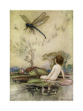 Warwick Goble, 1862-1943, the Water Babies 1924 Giclee Print by Vintage Lavoie
