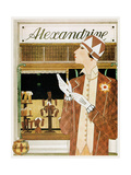 Alexandrine Gloves Accessories Paris 1925 Giclee Print by Vintage Lavoie