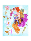 Mother Fairy's Kiss Giclee Print by Judy Mastrangelo