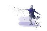 Soccer Player 02 Giclee Print by Marlene Watson