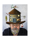 The Fisherman Giclee Print by Leah Saulnier