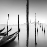 Gondolas and Poles Photographic Print by Moises Levy