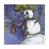 Snowman I Giclee Print by Kory Fluckiger