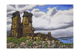 Stone Forest Giclee Print by Luis Aguirre