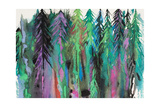 Colorful Forest Giclee Print by Michelle Faber