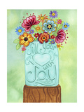 Fill Your Heart Jar Giclee Print by Jennifer Nilsson