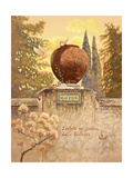 Villa D'este Giclee Print by Judy Mastrangelo