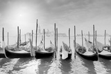 Gondolas Pano Photographic Print by Moises Levy
