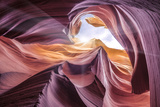 Antelope Canyon 2 Color Photographic Print by Moises Levy