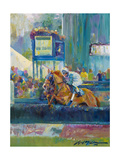 Steeplechase Giclee Print by Lucy P. McTier