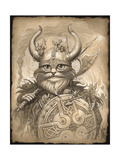 Haagar the Hairy Giclee Print by Jeff Haynie