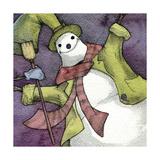 Snowman II Giclee Print by Kory Fluckiger