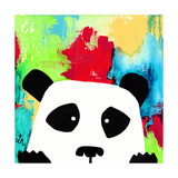Primary Panda Giclee Print by Jennifer McCully