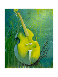 Sunken Dreams Cello Giclee Print by Michelle Faber