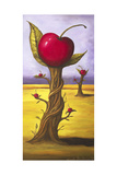 Surreal Cherry Tree Giclee Print by Leah Saulnier
