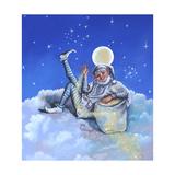 Sandman on Cloud Giclee Print by Judy Mastrangelo