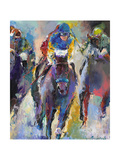 Jockeys Giclee Print by Richard Wallich