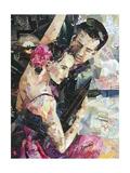 Tango Parisienne Giclee Print by Ines Kouidis