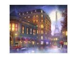 Mightnight in Paris Giclee Print by Joel Christopher Payne