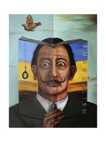 Book of Surrealism Giclee Print by Leah Saulnier