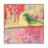 Sunshine Bird Giclee Print by Jennifer McCully