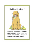 XL Golden Giclee Print by Jennifer Zsolt