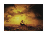 Storm Pa Havet Giclee Print by Marcus Larson