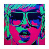 Pop Star 1 Reproduction procédé giclée par  Abstract Graffiti
