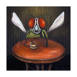 Bar Fly Giclee Print by Leah Saulnier