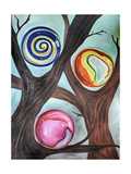 Marble Forest 2 Giclee Print by Leah Saulnier