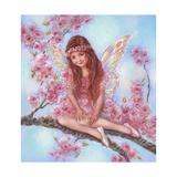 Cherry Blossom Giclee Print by Judy Mastrangelo