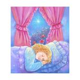 Girl Sleeping Giclee Print by Judy Mastrangelo