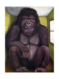 800 Pound Gorilla Giclee Print by Leah Saulnier