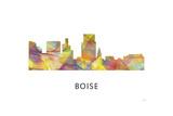 Boise Idaho Skyline Giclee Print by Marlene Watson