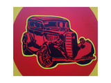 Muscle Car 3 Giclee Print by  Abstract Graffiti