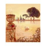Tivoli Pond Giclee Print by Judy Mastrangelo