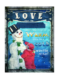 Love Keeps You Warm Giclee Print by Joel Christopher Payne