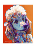 Poodle - Bonnie Giclee Print by  Dawgart