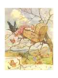 CA Fairy 74 Giclee Print by  Vintage Apple Collection