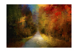 Spotlight on Autumn Giclee Print by Jai Johnson