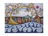 By the Sea Giclee Print by Karla Gerard