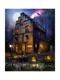 Firefly Inn Giclee Print by Joel Christopher Payne
